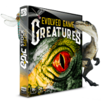 Evolved.Game.Creatures. WAV Sound Effects